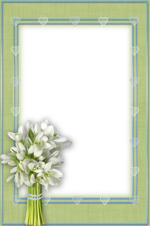 Весенние цветы подснежники